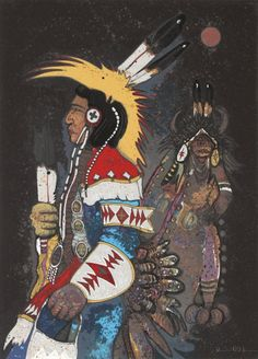 Native American Art: Kevin Red Star
