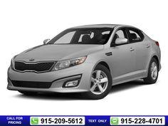 2015 Kia Optima 4dr Sedan LX 16k miles Silver Call for Price 16029 miles 915-209-5612 Transmission: Automatic  #Kia #Optima #used #cars #ElPasoHonda #ElPaso #TX #tapcars