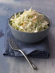 Learn how to prepare this easy Creamy Low-Sodium Coleslaw recipe like a pro. With a total time of only 5 minutes, you'll have a delicious side ready before you know it. Low Sodium Coleslaw Recipe, Healthy Coleslaw Recipes, Low Sodium Recipes, Salad Recipes, Burger Recipes, Side Recipes, Raw Food Recipes, Vegetarian Recipes, Cooking Recipes