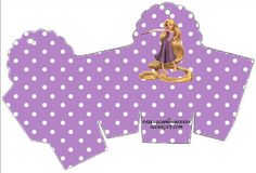 Cajitas Imprimibles de Enredados (Rapunzel)