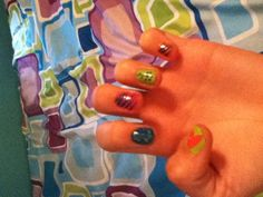 Cool nails (:
