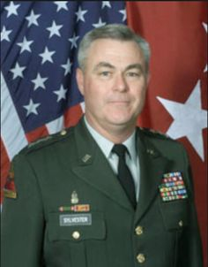 Lieutenant General John B. Sylvester, Danger 7.  I served as his aide-de-camp for one month before he moved to an assignment in Europe.  A fantastic officer and true patriot.