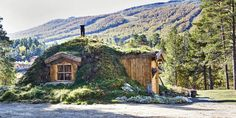 voiceofnature:  Norwegian earth sheltered hut (based on norse and sami traditions).