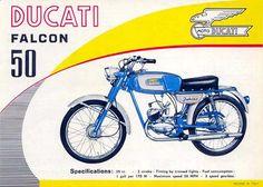 Vintage Ducati Brochure
