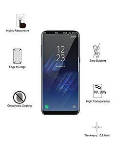 awesome Galaxy S8+ Protector de pantalla  , Yootech LiQuidSkin Wet Applied anti-burbujas S8 plus de Samsung Galaxy HD claro caso película amable - garantía de por vida