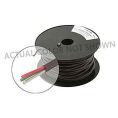 500 18AWG 3C Thermostat Cable White by Steren. $79.97. Suitable for residential and commercial use. Standard color-coded conductor jackets simplify installations and keep track of functions. Flame retardant PVC jackets. 18 AWG/3C  solid copper conductors. Supplied in 500' spool. UL or, OSHA acceptable and NEC Type CL2. Color: White. Save 65% Off!