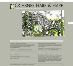 Ochsner Hare & Hare is a landscape architecture and city planning firm that has played a significant role in the development of Kansas CIty, as well as communities all over Missouri and the nation. Reputably the oldest landscape architecture firm in