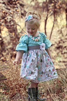 LIMITED Christmas dress Holiday dress by 3cutiepiesbowtique, $52.00