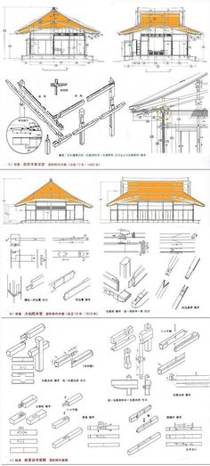 Japan of the building making the support coming technology - Shimoyama is considered the origin of the things that make a story . over the architecture Shinji Japanese Carpentry, Japanese Joinery, Japanese Woodworking, Woodworking Joints, Japanese Design, Timber Architecture, Japan Architecture, Chinese Architecture, Sustainable Architecture