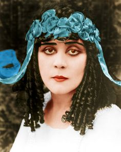 Theda Bara - c. 1910 - The movies' first sex goddess or Vampire as they were called then.