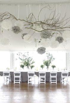 wedding shower decor | Weddbook / Decor / Bridal Shower / Hanging Wedding Decoration