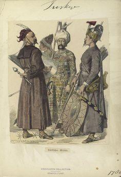 1780'lerde Osmanlı'da mahmuz, Texas Tommiks halt etmiş.