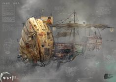 The Pagdi Ship (dimensions: 14x4 metres approx, cargo capacity: 500 kgs, crew…