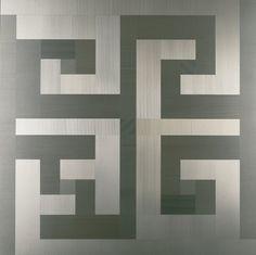 Diana Baylon, Mutevole, 1975. Mutevole, 1975 alluminio anodizzato, 78x78 cm collezione VAF Stiftung, in deposito presso il MART - Museo di arte moderna e contemporanea di Trento e Rovereto Arte Programmata