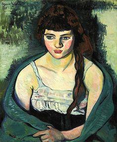 Victorine ou La tigresse, 1919 / Valadon