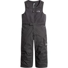 The North Face - Insulated Bib Pant - Toddler Boys' - Graphite Grey