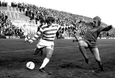 Dundee United and Celtic in action at Tannadice in the 1970s.