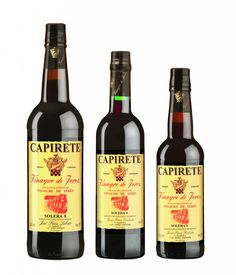Producer: José Páez Lobato. Protected Designation of Origin: Sherry Vinegar. Brand: CAPIRETE Solera 8. Acidity: 8 %. Variety of grape: Palomino. Aging: 8 years old. Cata: Characterised by its intense amber colour with touches of mahogany. Its acetic aroma has hints of dried fruits and qualities derived from its ageing in wooden vats. Its full-bodied flavour and well-balanced taste is strongly reminiscent of the wines from which it is created.   www.sherryvinegar.com