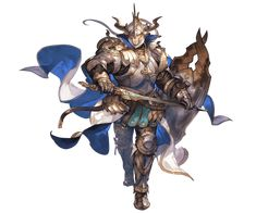 View an image titled 'Baotorda SSR Art' in our Granblue Fantasy art gallery featuring official character designs, concept art, and promo pictures. Game Character Design, Character Design References, Fantasy Character Design, Character Concept, Character Art, Concept Art, Granblue Fantasy Characters, Knight Art, Dnd Art