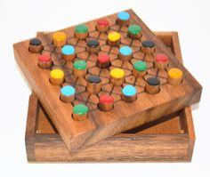 Five Different - Wooden Brain Teaser