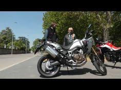 Honda AFRICA TWIN 2016 la Prova su Strada di BOBB GEAR