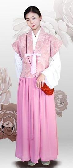 Banbi (半臂) - Modern Hanfu - Women's Chinese traditional clothing (hanfu).