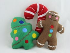 Specialty Gift Wrapped Christmas Handmade by suchastitch on Etsy, $26.00