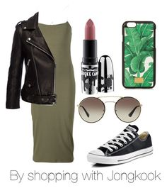 """""""By shopping with Jongkook"""" by viva73319 on Polyvore featuring мода, T By Alexander Wang, Anine Bing, Converse, MAC Cosmetics, Prada и Dolce&Gabbana"""
