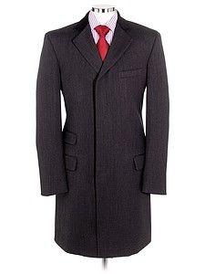 Covert Coat - Charcoal