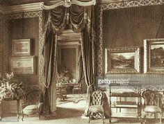 Salon of Empress Elisabeth in Gödöllö Castle. (Photo by Imagno/Getty Images) Austria, Impératrice Sissi, Empress Sissi, Austro Hungarian, Elisabeth, Victorian Decor, Her World, Abandoned Houses, Bavaria