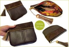 leather (faux leather) handbag pattern
