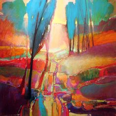 """Contemporary Painting - """"""""Coppice 849"""""""" (Original Art from MARK GOULD)"""