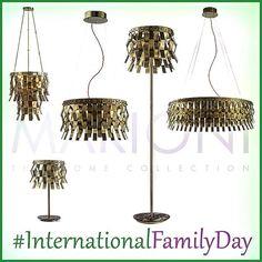 """""""La famiglia è un collegamento con il nostro passato e un ponte verso il nostro futuro"""" _A. Haley_  #InternationalFamilyDay #FamilyDay #InternationalDayOfFamilies #GiornataInternazionaleDellaFamiglia #DayofFamilies #notoriouscollection #marionisrl #marioni #brasscollection #veronicasfamily #marionilighting #notoriouslighting #tablelamp #suspension #walllamp #floorlamp #luxurylighting #luxurylight #luxuryliving #illuminazionenotorious #illuminazionedilusso #lampademarioni…"""