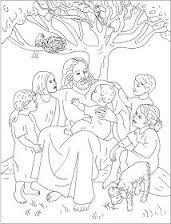 Bildergebnis für jesus kinder malvorlage