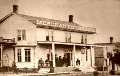 Abilene Kansas Merchant Hotel #Wild #West #History historic cowtown