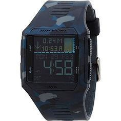 An ideal blend of function and value the Rip Curl Rifles Tide Watch offers 500 pre-programmed tide locations in graph or detailed display and countless other features without breaking the bank. An a...