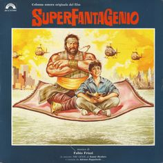 Various - Superfantagenio Lps, Soundtrack, Bud Spencer Terence Hill, Tr 4, Main Theme, Funny Comedy, Cult Movies, Compact Disc, Theme Song