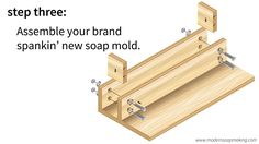 Build Your Own Adjustable Wooden Soap Molds for Loaves, Slabs, & Blocks of Soap - Modern Soapmaking