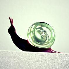 Snail Murano glass