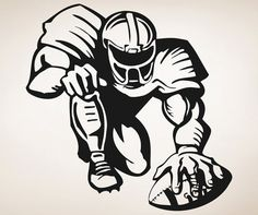 . Wall Decal Sticker, Vinyl Decals, Football Shirt Designs, Sports Decals, Silhouette Cameo Projects, Cricut Vinyl, Vinyl Projects, Vinyl Designs, Football Spirit