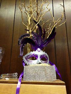 quinceanera decorations supplies | ... Gras-Masquerade-Quinceanera-party-favor-weddings-decorations-mask-lot