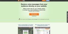 SpeakPipe – Receive voice messages from your audience directly on your website / Otrzymuj wiadomości głosowe od swoich słuchaczy bezpośrednio na Twoją stronę http://www.start4app.pl/speakpipe/