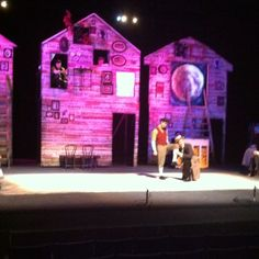Our Town Set Theatre, Set Design Theatre, Stage Design, Theater, Our Town, Stage Set, Scenic Design, Scene, Design Inspiration