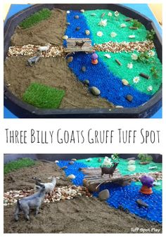 When I found out about International Goat Day Blog Hop hosted by Witty Hoots I instantly knew that I wanted to do a Tuff Spot based on 'The Three Billy Goats Gruff'. My class love traditional tales and we have done several Tuff Trays in the past on this theme such as 'Jack and the...Read More »