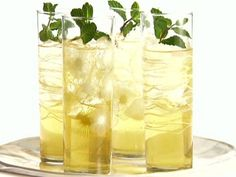 Get Apple and Mint Punch Recipe from Food Network