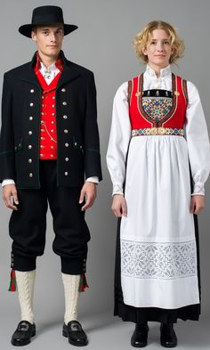 Hello all, Today I will cover the last province of Norway, Hordaland. This is one of the great centers of Norwegian folk costume, hav. Folk Costume, Costume Dress, Traditional Fashion, Traditional Dresses, Folklore, Norwegian Clothing, Costume Ethnique, Costumes Around The World, Beauty And The Beast Costume