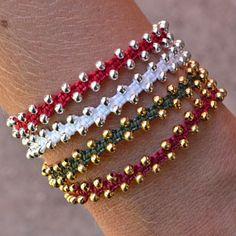 Macrame Bracelet Project Tutorial   Bollywood   Beadshop.com