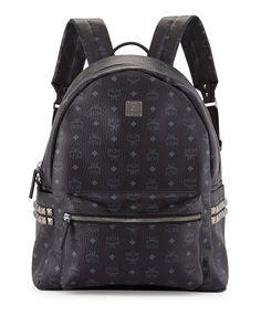 MCM side studded bag