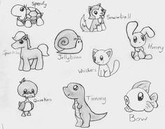 cute animal drawing                                                                                                                                                     More