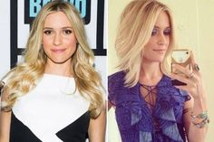 15 #Celebrity Hair Transformations of 2014 ... → Hair #Ombre